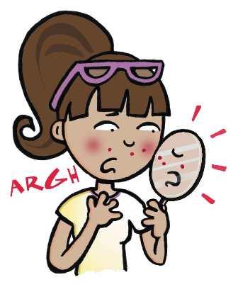 Per combattere l'acne le diete non servono