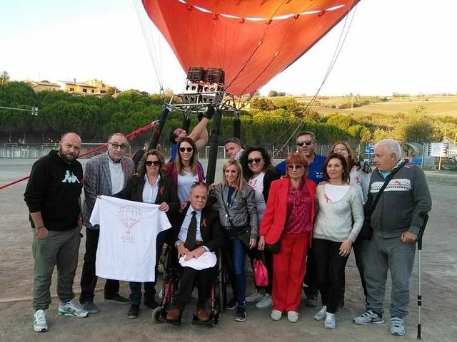 'In volo per non perdere il sorriso': l'Aism Benevento a Fragneto Monforte