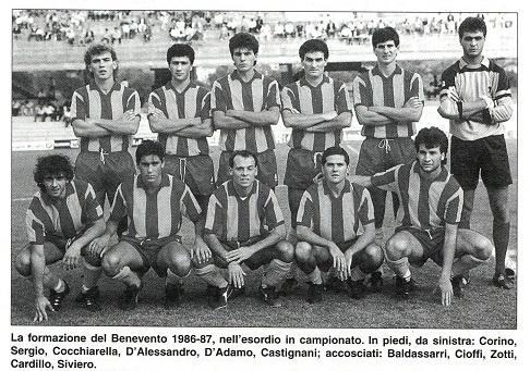 Per Baldassarri un ritorno a Benevento