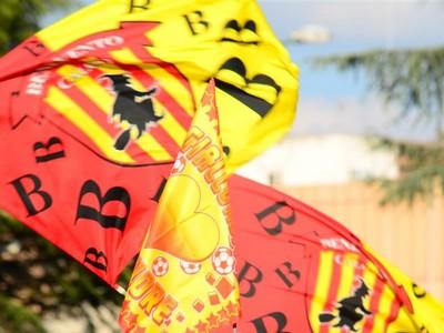 Calcio: il Benevento brinda al meglio l'esordio in serie B