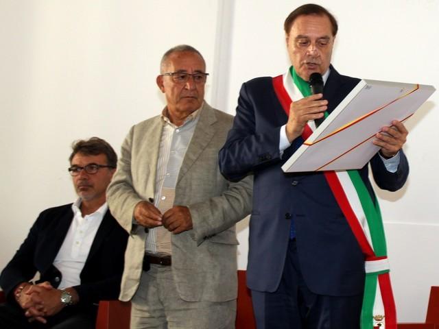 Vigorito e i suoi ragazzi accolti trionfalmente a Palazzo Paolo V