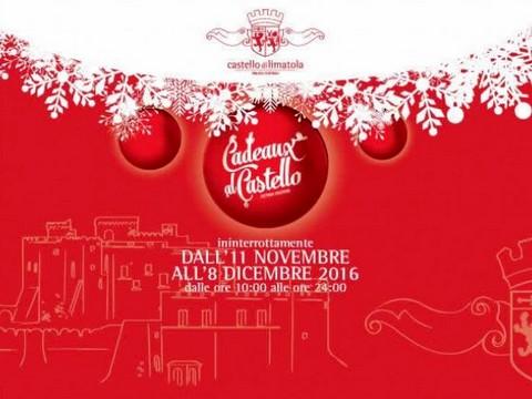 LIMATOLA - Dall'11 novembre all'8 dicembre la VII edizione del Mercatino di Natale 'Cadeaux al Castello'