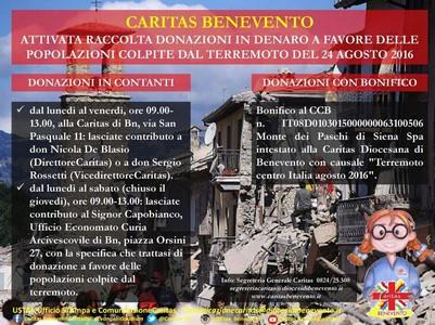La Caritas Diocesana di Benevento ha attivato la