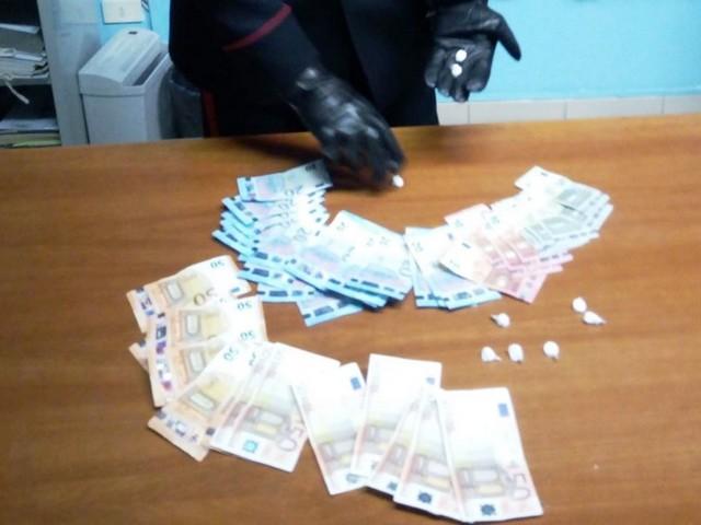 VITULANO - Fermato in auto con 9 dosi di cocaina. In manette spacciatore 30enne
