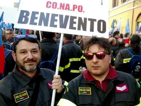 Cavuoto (CoNaPo): 'A Benevento mancano oltre 20 vigili del fuoco'