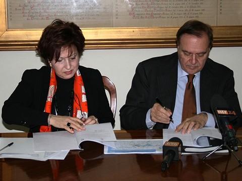 Depuratore, firmato a Palazzo Mosti un protocollo d'intesa tra Comune e Autorità di Bacino Liri-Garigliano