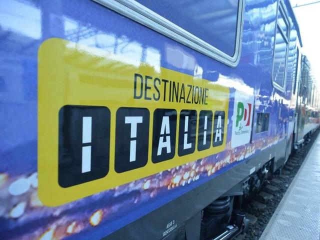 Il treno #destinazioneitalia con cui il