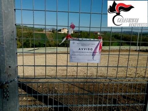 CALVI - Sequestrata ex discarica bonificata con fondi europei. Tre denunce