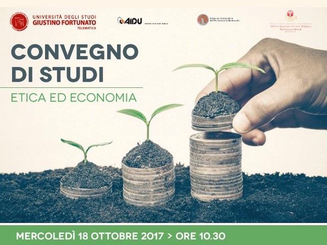 'Etica ed economia', mercoledì 18 ottobre convegno di studi dell'Unifortunato presso il Seminario Arcivescovile