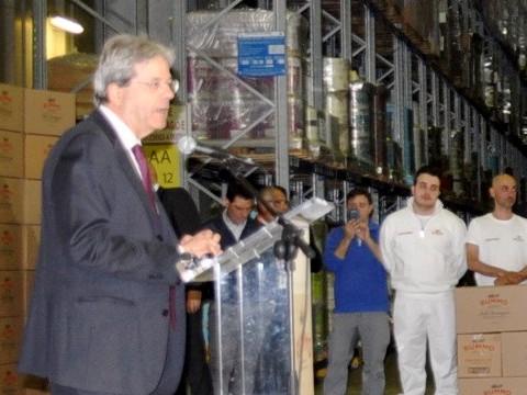 Ricci commenta positivamente la visita del premier Gentiloni nel Sannio