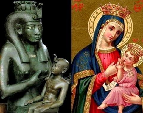 Iside, Madonna e strega