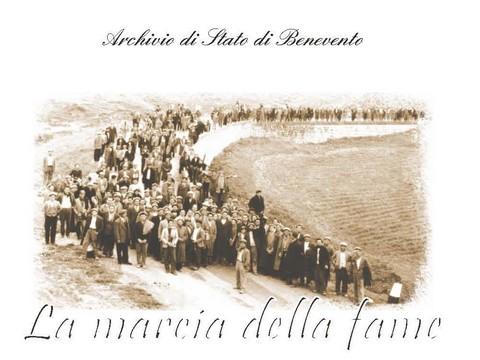 'Marcia della fame': giornata di studi presso l'Archivio di Stato di Benevento