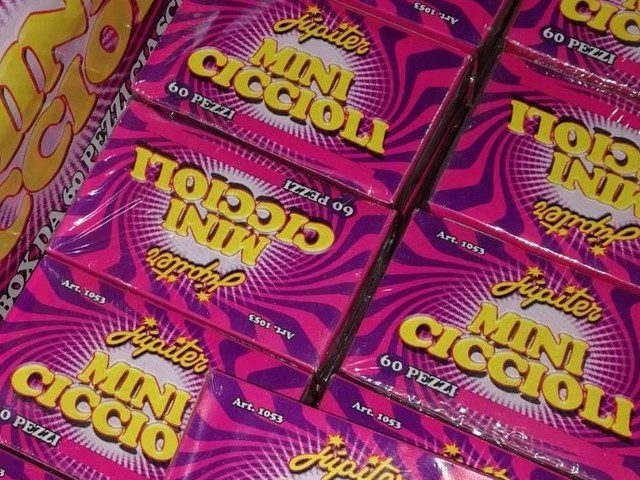LIMATOLA - I carabinieri sequestrano oltre 100 scatole di fuochi d'artificio illegali