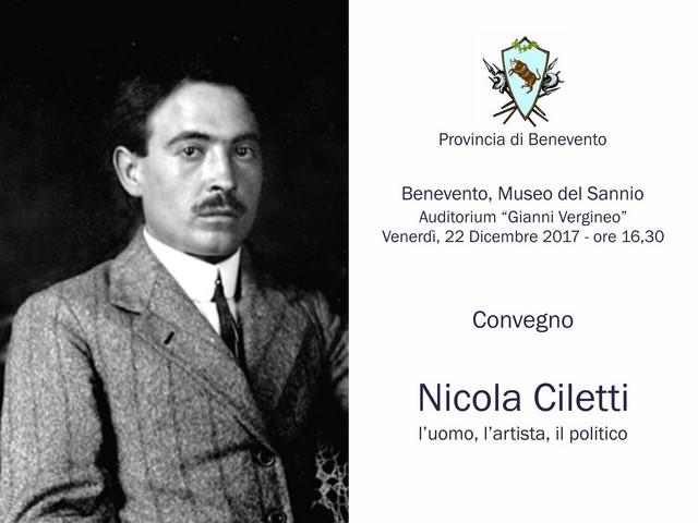 Convegno in onore di Nicola Ciletti presso il Museo del Sannio