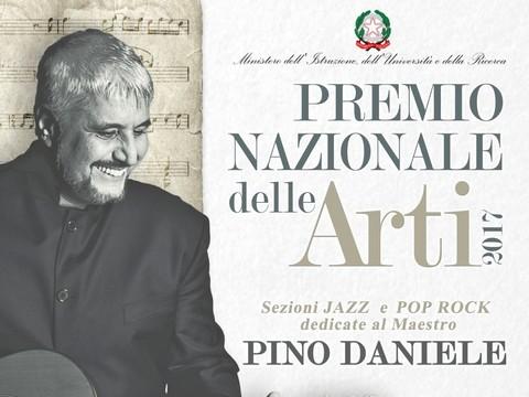 Dedicate per la prima volta a Pino Daniele le sezioni Jazz e Pop Rock del 'Premio Nazionale delle Arti'