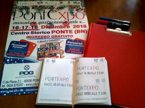 PONTE - In rampa di lancio la kermesse 'Natale al Castello con PontExpo: mercatino, gastronomia, arte e...'