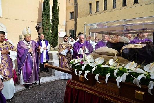 A Benevento in quel Duomo dove fu ordinato sacerdote