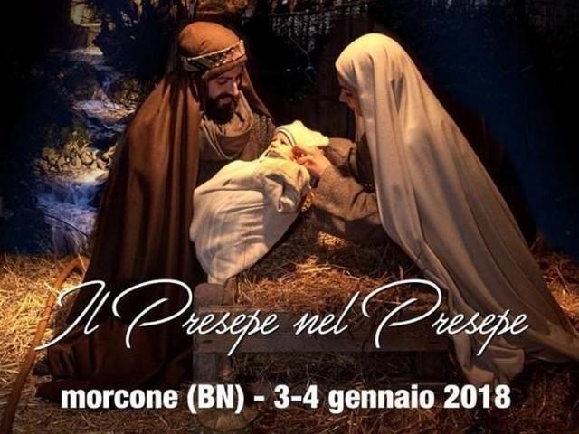 MORCONE - Fervono i preparativi per la XXXIV edizione del 'Presepe nel Presepe'