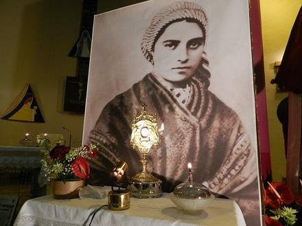 La reliquia di Santa Bernadette a Benevento
