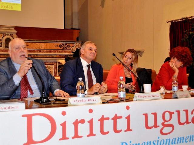 Il presidente della Provincia, Claudio Ricci,