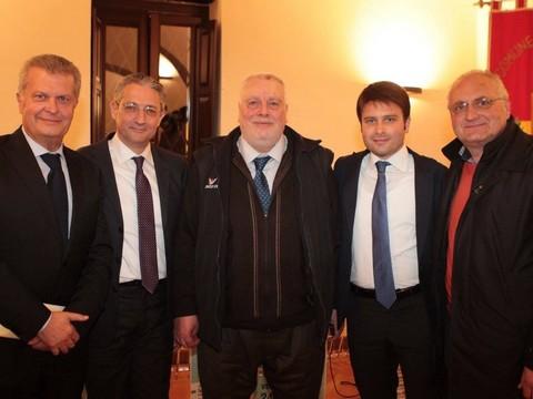 Il presidente della Provincia di Benevento