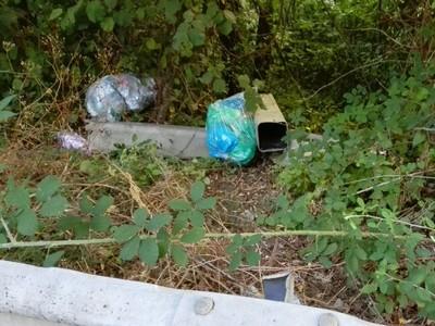 Il lancio dei rifiuti... ma l'insozzare non è un gioco