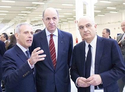 Crea euforia l'inaugurazione dell'Adler Plastic di Airola