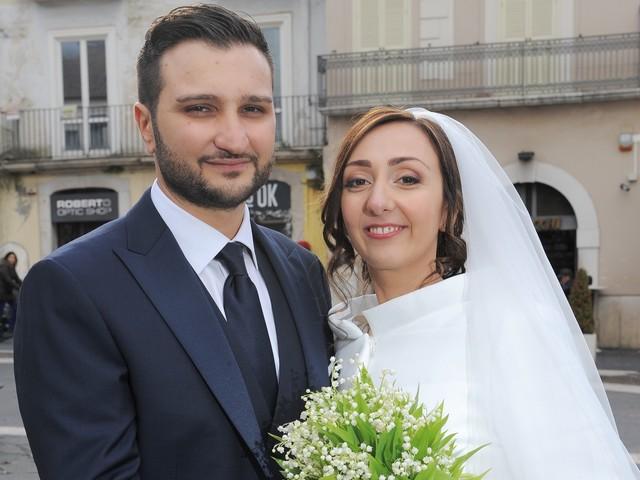 Nella chiesa di Santa Sofia hanno coronato il loro sogno d'amore Rocco Sica e Claudia Castaldo