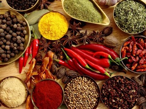 Ecco le spezie e gli aromi amici dell'organismo umano