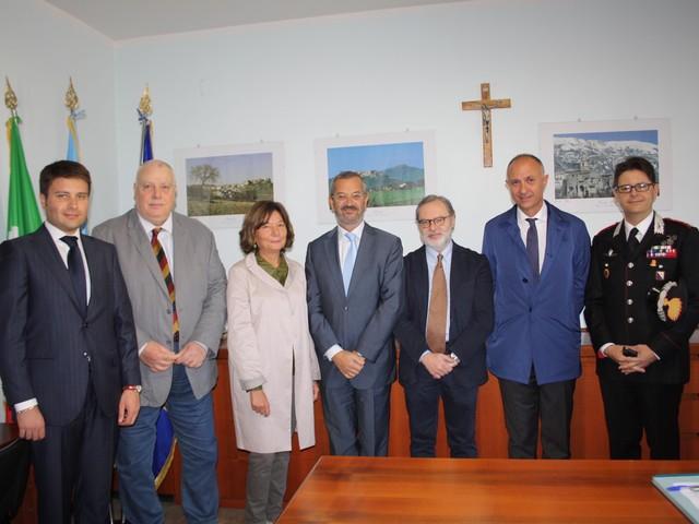 Contratto di fitto e amministrazione della giustizia, summit alla ex Caserma Guidoni