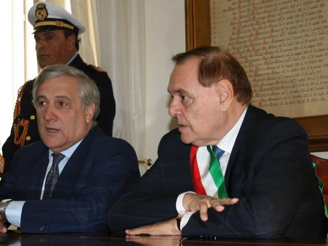 Il presidente Antonio Tajani a Benevento. 'Bisogna saper cogliere al meglio le opportunità dell'UE'