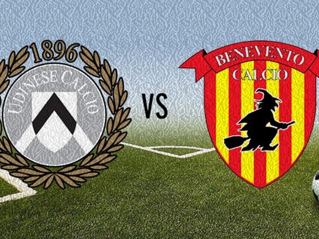 Calcio Serie A: il Benevento a Udine per cercare il primo punto esterno