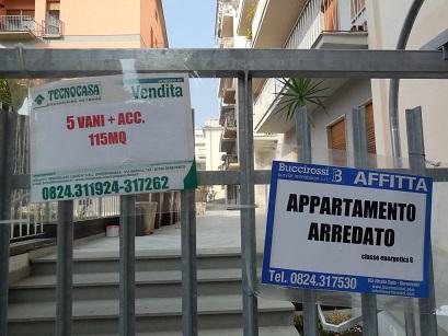 Benevento: ecco i segni della crisi e del degrado