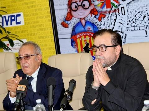 Il Benevento tra calcio, turismo e solidarietà