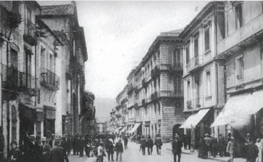 Corso Garibaldi All'inizio del Secolo