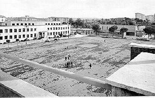 Piazza Risorgimento anni '50